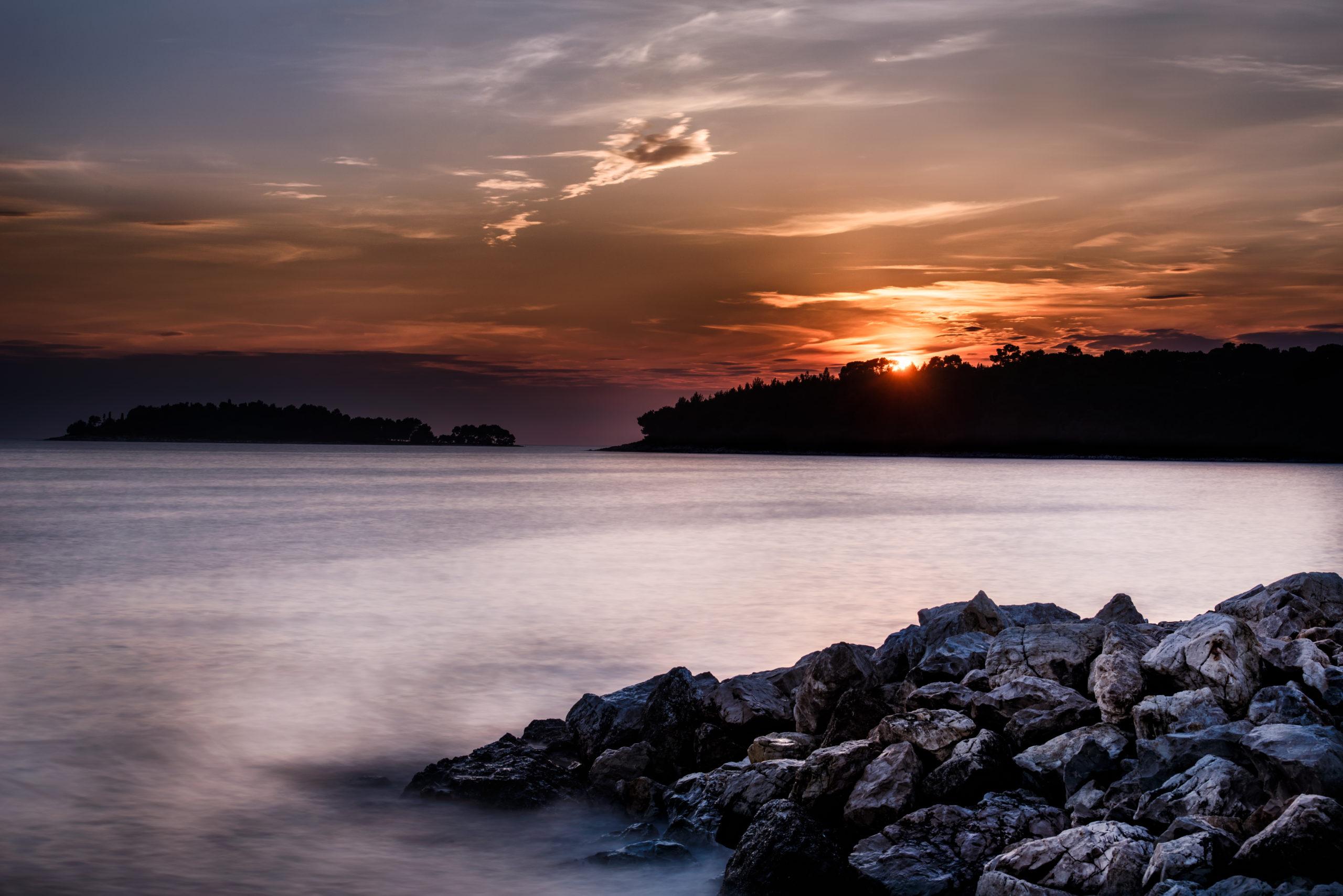 Sonnenuntergang Kroatien Maturareise